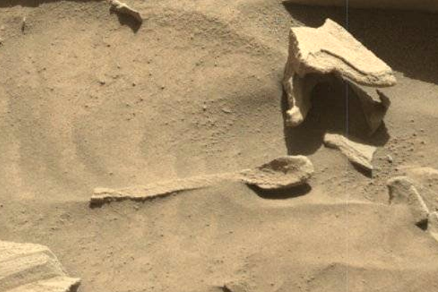 Spoon On Mars Found By NASA Using The Mars Rover