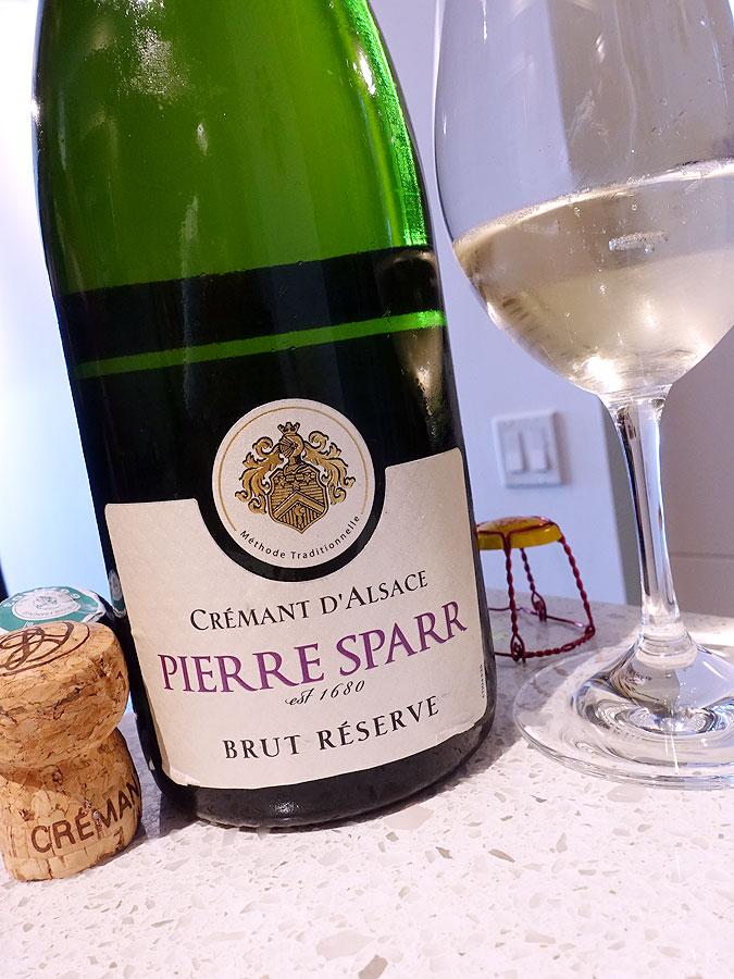 Pierre Sparr Réserve Brut Crémant d'Alsace (88+ pts)
