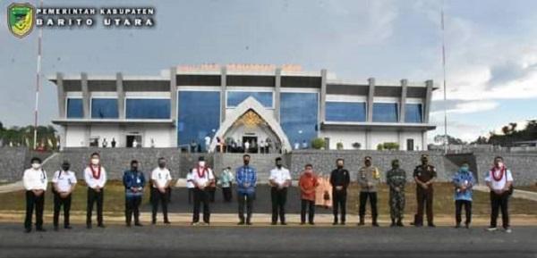 Bandar Udara Haji Muhamad Sidik Mulai Beroperasi