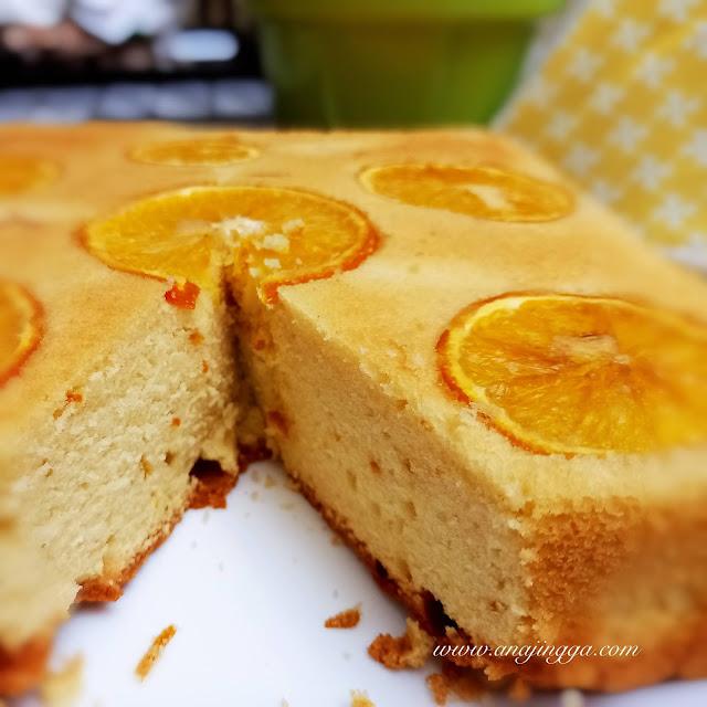 Resepi kek buah oren