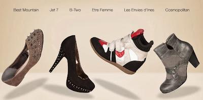 Oferta de zapatos de fin de año