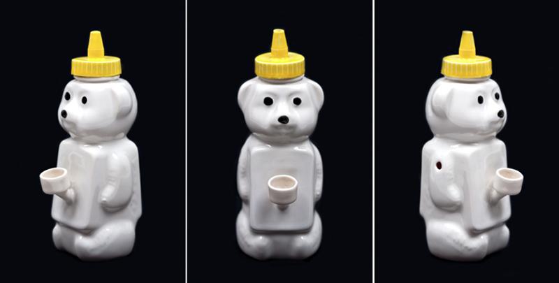 Floyd the honey bear bong