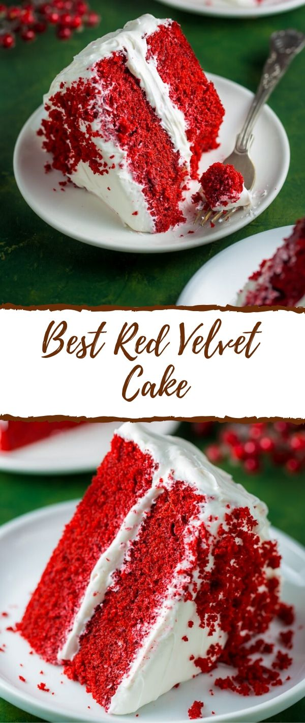 Best Red Velvet Cake #Best #Red #Velvet #Cake Cake Recipes From Scratch, Cake Recipes Easy, Cake Recipes Pound, Cake Recipes Funfetti, Cake Recipes Vanilla, Cake Recipes Bundt, Cake Recipes Homemade,