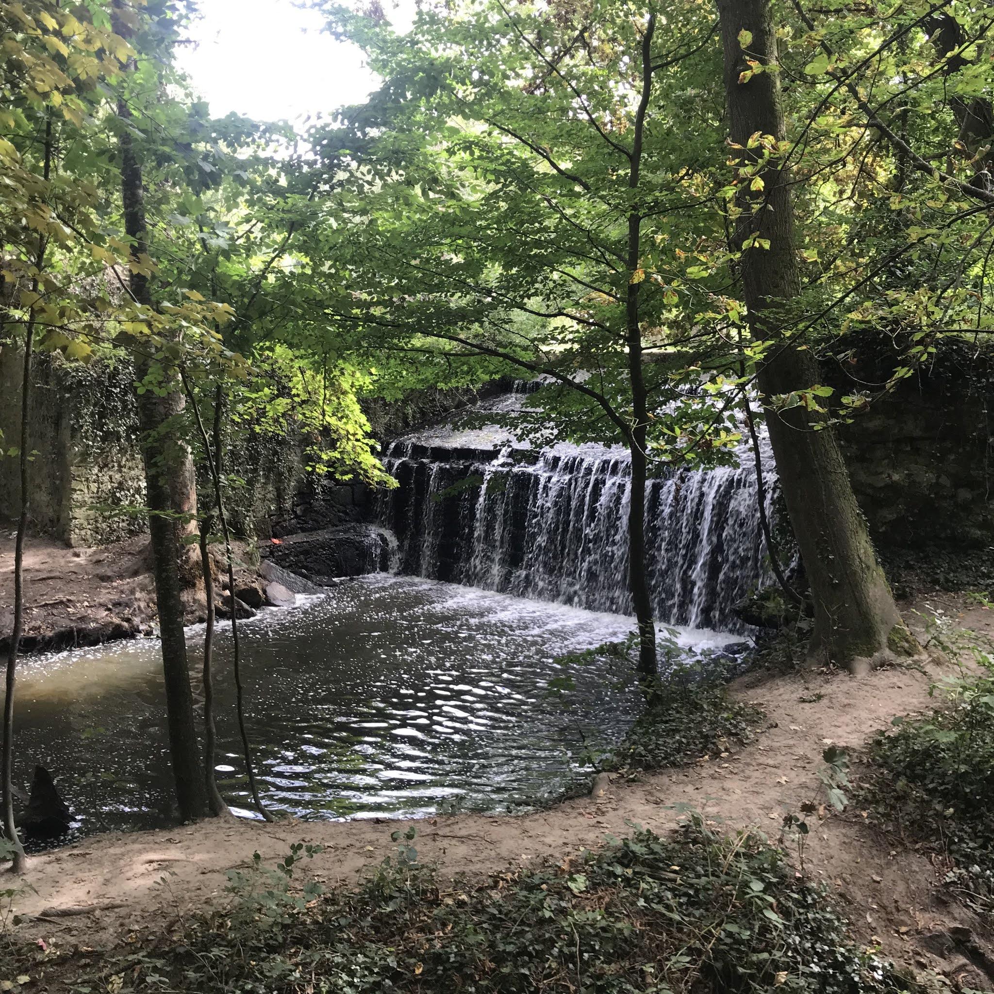 Cascade du Petit Moulin des Vaux de Cernay