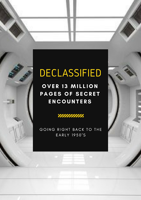 The CIA recently released over 13 million pages of classified documents.