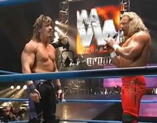 WWA - The Revolution 2002 -  Jerry Lynn confronts Eddie Guerrero