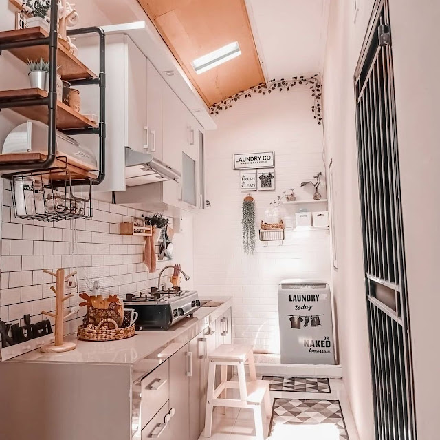 Model Kitchen Set Single Line untuk Dapur Kecil