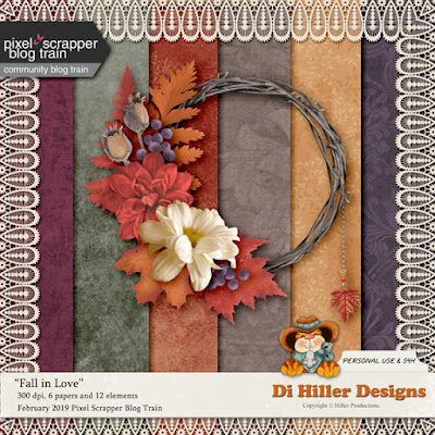 Fall In Love Blog Train Freebie