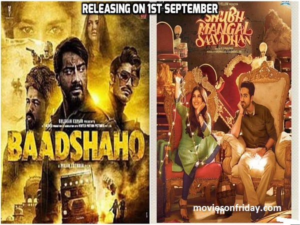 Upcoming Bollywood Movies In September 2017