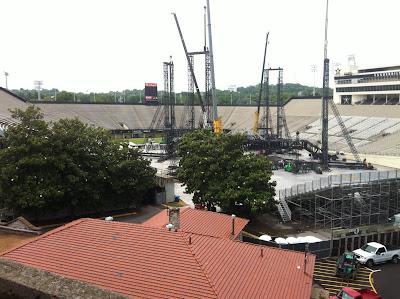 Vanderbilt Stadium Nashville u2 360 tour