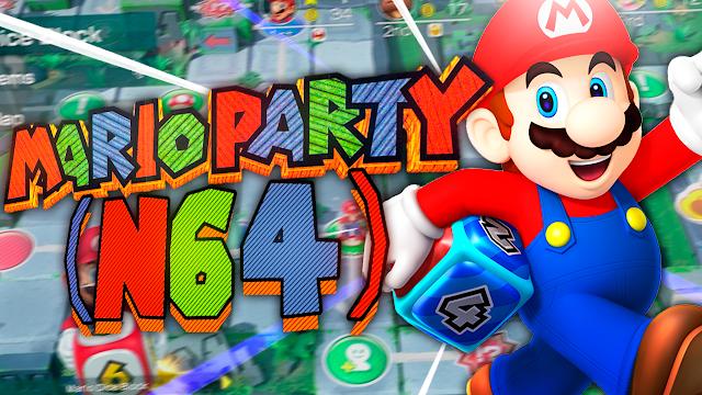 Mario Party 1 (Español) Para Teléfonos Android [ROM N64]