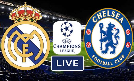 تشيلسي وريال مدريد في دوري أبطال أوروبا