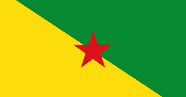 Bandera de Guayana Francesa