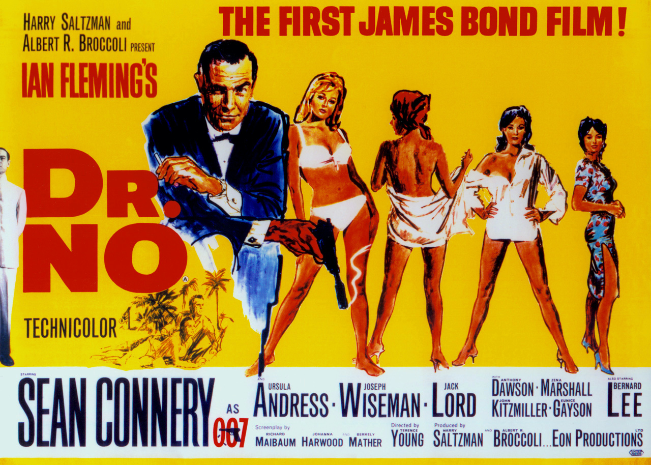 Dr. No UK movie poster