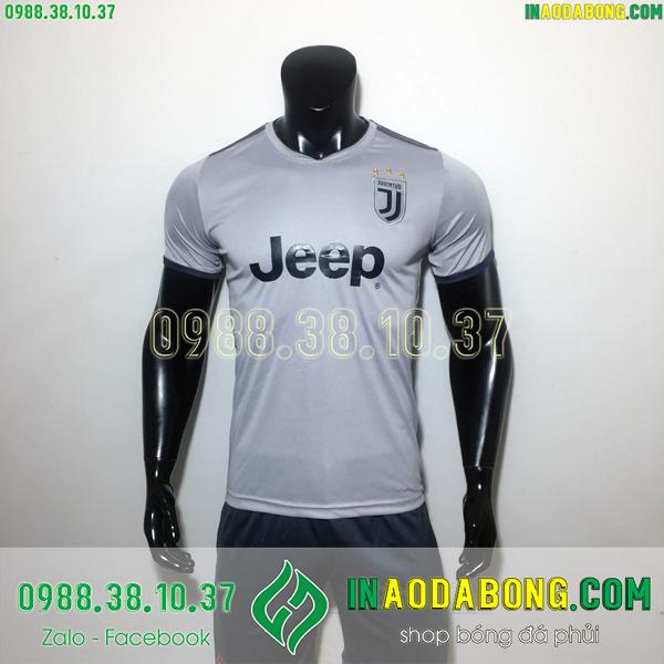 Áo bóng đá câu lạc bộ Juventus xám