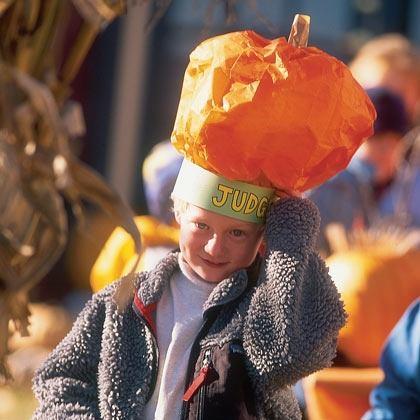Craft: Pumpkin Hat