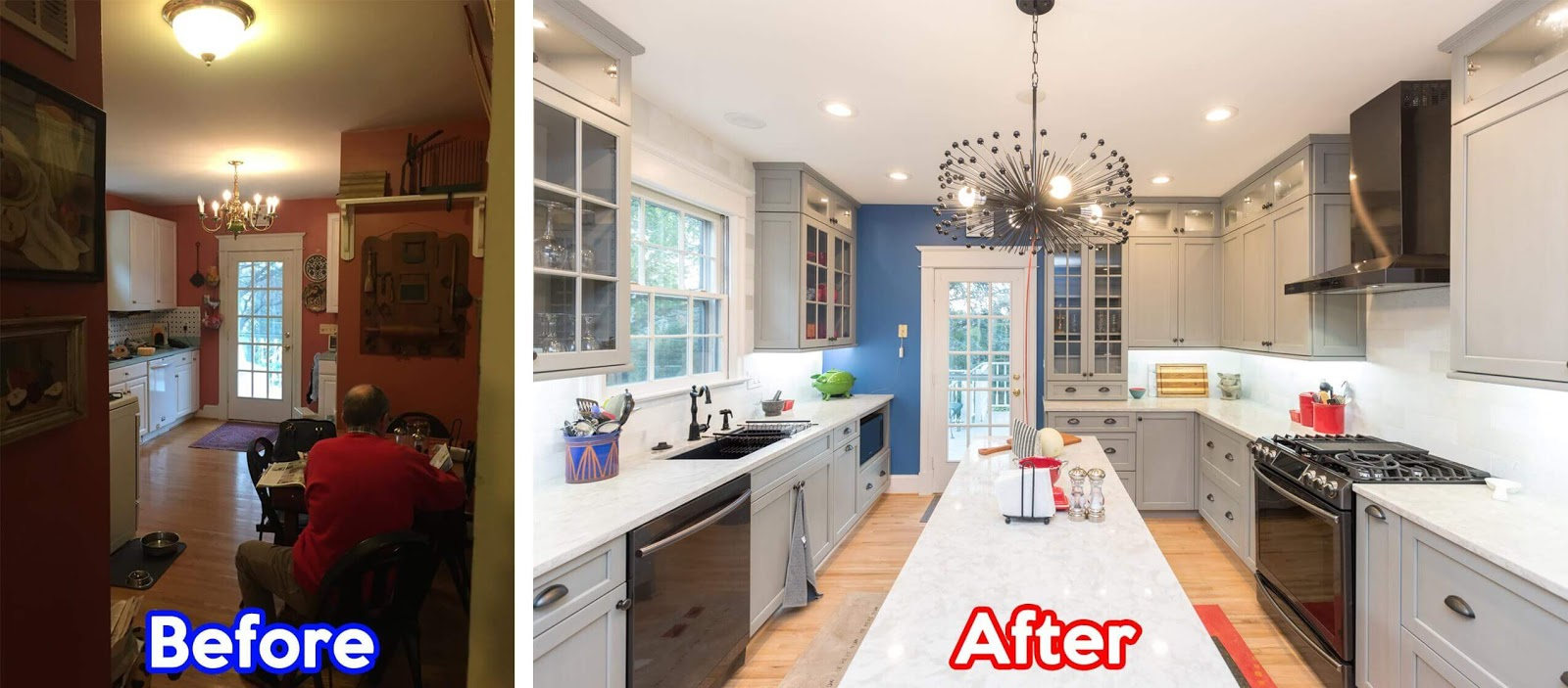 Small Kitchen Makeovers Ideas Before and After in DC Metro ...