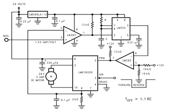 Fixed OFF Time Control Circuit Diagram
