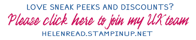 Join Stampin' Up team Derbyshire demonstrator