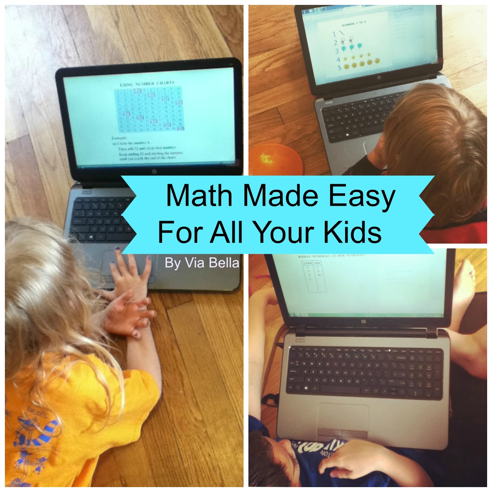 Via Bella: Math Made Easy For All Your Kids