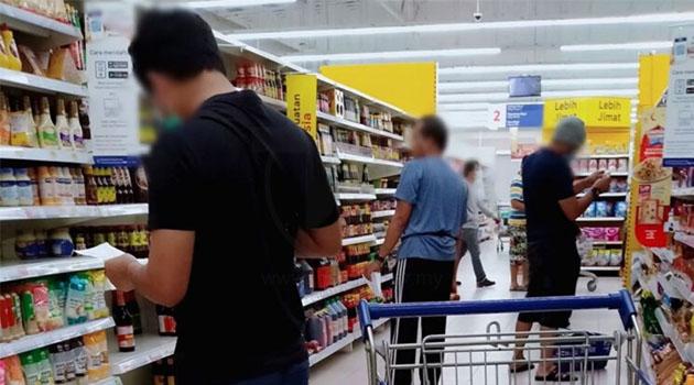 PKP Fasa 4: Ketua keluarga dibenarkan bawa seorang ahli keluarga keluar bersama untuk beli barangan keperluan