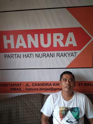 DPC Hanura Binjai Targetkan  6 Kursi Untuk Pilcaleg
