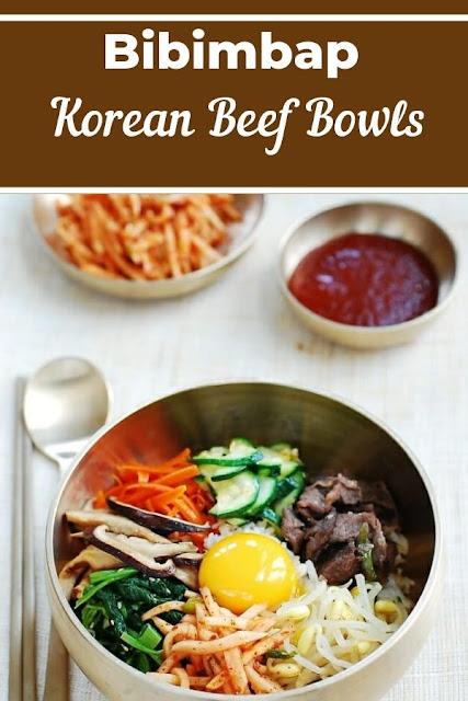 Bibimbap Korean Beef Bowls #Bibimbap #Korean #Beef #Bowls Healthy Recipes For Weight Loss, Healthy Recipes Easy, Healthy Recipes Dinner, Healthy Recipes Best,