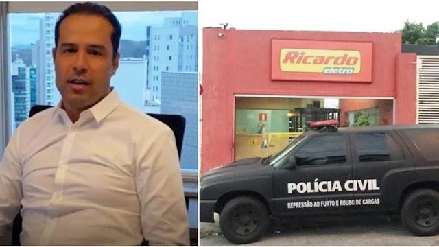 Fundador da rede Ricardo Eletro é solto após prestar depoimento