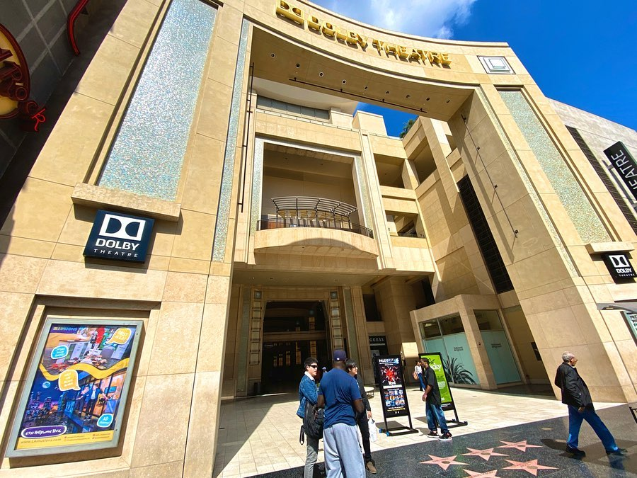 visit the dolby theatre Los Angeles