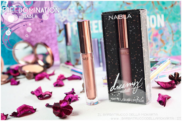 antimatter  fetish mauve nabla cosmetics recensione freedomination collection summer lipstick dreamy matte