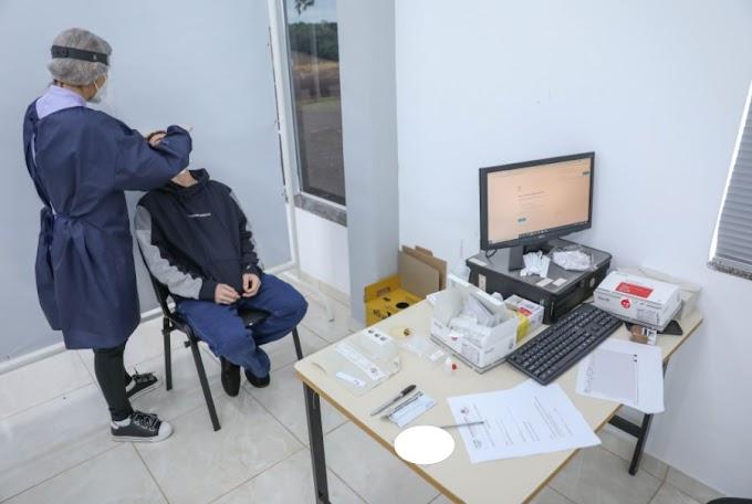 Laranjeiras: Prefeitura começou a aplicar testes rápidos para o diagnóstico da Covid-19