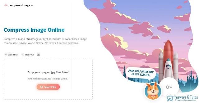 Compress Image Online : un compresseur d'images (JPG/PNG) en ligne gratuit