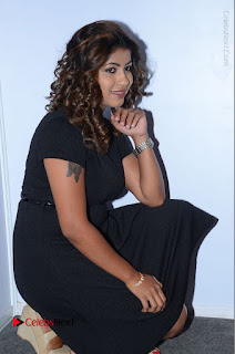 Tollywood Actress Geethanjali Thasya Latest Pos in Black Short Dress at Nanna Nenu Na Boyfriends Audio Launch  0033.JPG