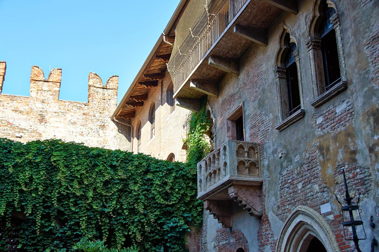 balkon Romeo i Julia Werona