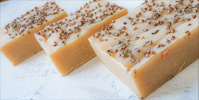Herbal cold process soap