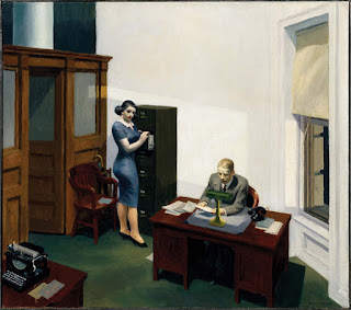 Hopper, Office at night