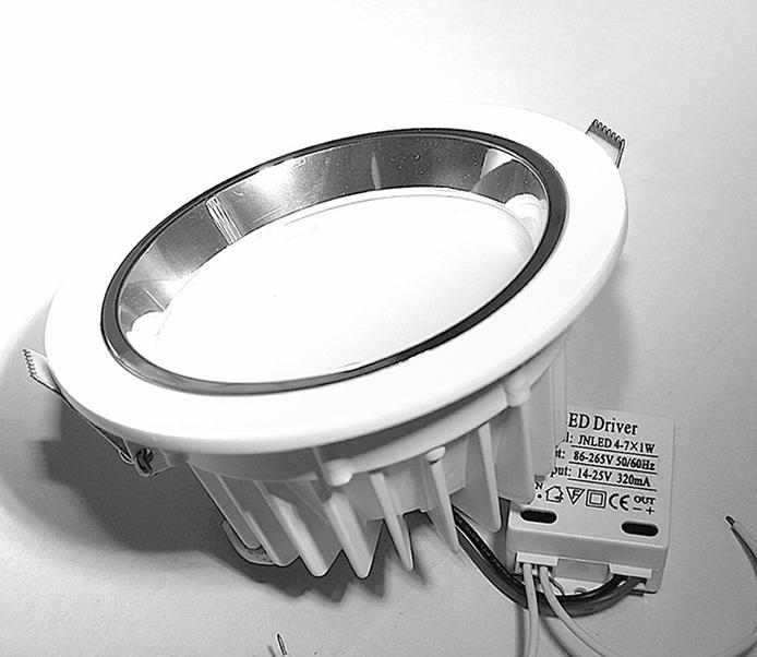 Tienda de iluminacion LED Focos empotrables o downlights