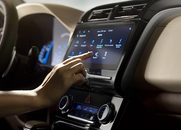 Novo Hyundai Creta 2022 - Ultimate - Central Multimídia