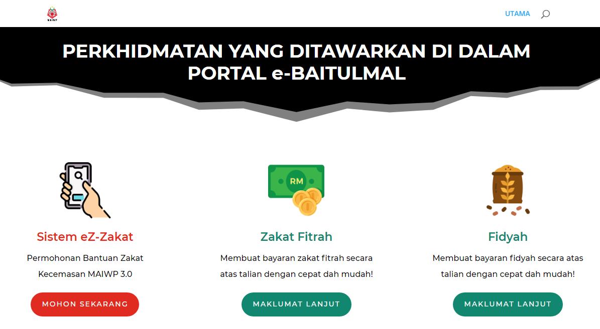 Cara Memohon Bantuan Zakat Kecemasan 3.0 RM500 untuk B40