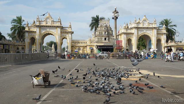 Kote Anjaneya Temple Mysore