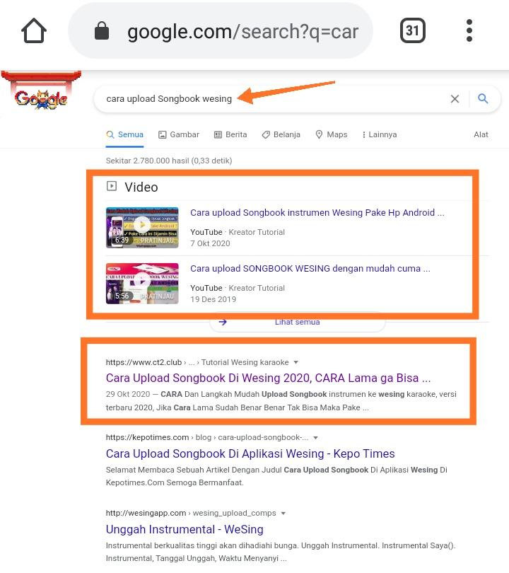 Video YouTube Di Page 1 google