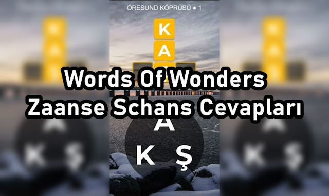 Words Of Wonders Zaanse Schans Cevaplar