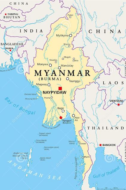 """MYANMAR (ex Birmania): COLPO DI STATO ma l'esercito promette, nuove elezioni dopo stato emergenza : """"Saranno 'libere e regolari"""""""