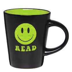 Black Smiley Mug