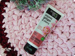Organic Shop y su cuidado facial: exfoliante de jengibre y cereza