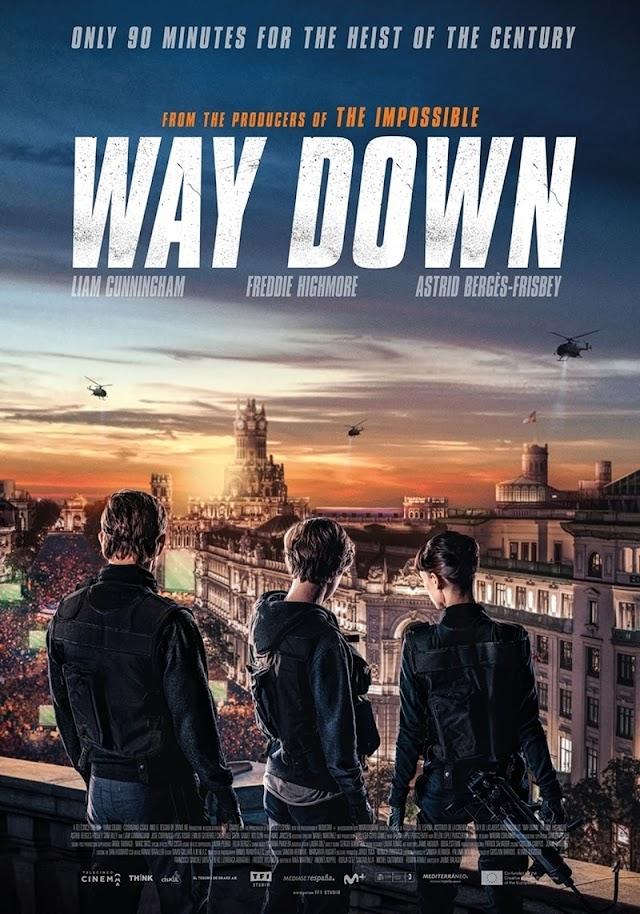 Way Down 2021 x264 720p Esub BluRay English Hindi Telugu Tamil THE GOPI SAHI