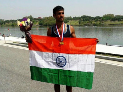 Indian Athlete Dattu Bhokanal in Rowing for Summer Olympics 2016
