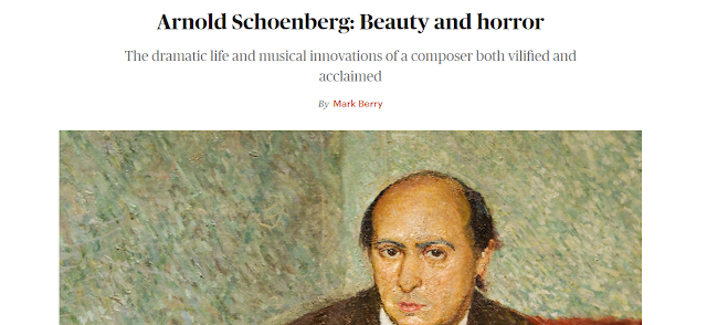 Arnold Schoenberg: Beauty and Horror (in the TLS)