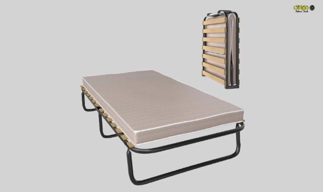 سرير متنقل قابل للطي