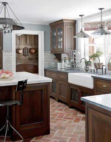 Brick Vector Picture: Brick Tile For Kitchen Cabinets